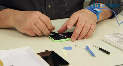Reparaturanleitung iPhone 5c: Displaytausch