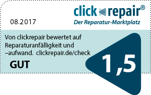 clickrepair Reparatur-Check HTC Wildfire S